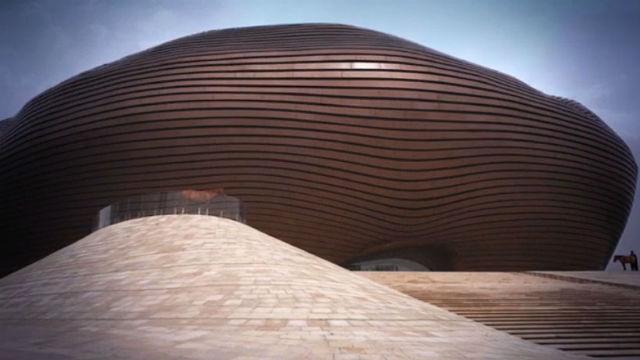 MAD Architects'in Moğolistan'daki Müze Projesi Tamamlandı