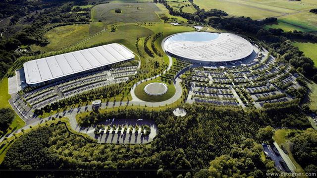 Foster + Partners'tan McLaren Üretim Merkezi
