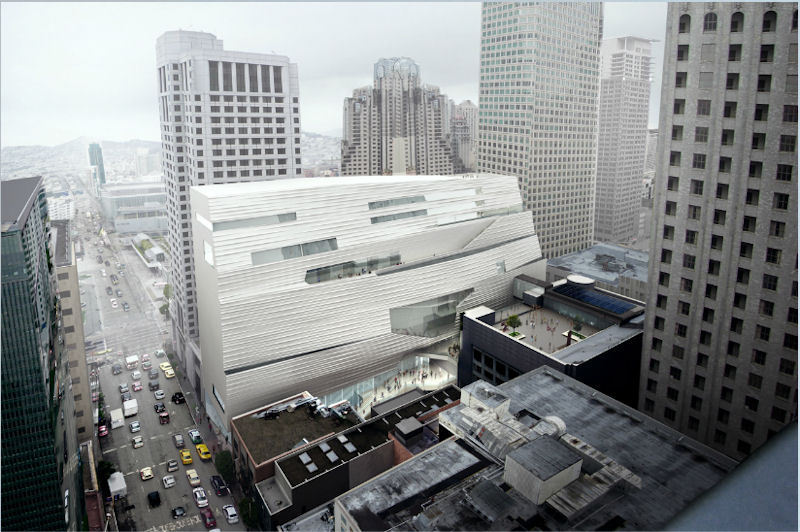 """Snøhetta'dan """"San Fransisko Modern Sanatlar Müzesi"""" Açılımı"""