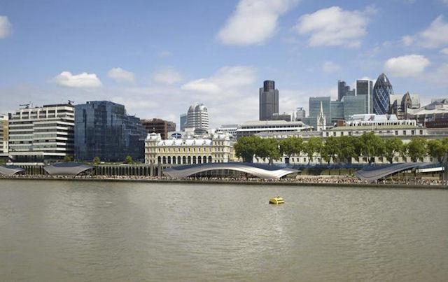 Gensler'in Londra Nehir Parkı Planları Geri Alındı