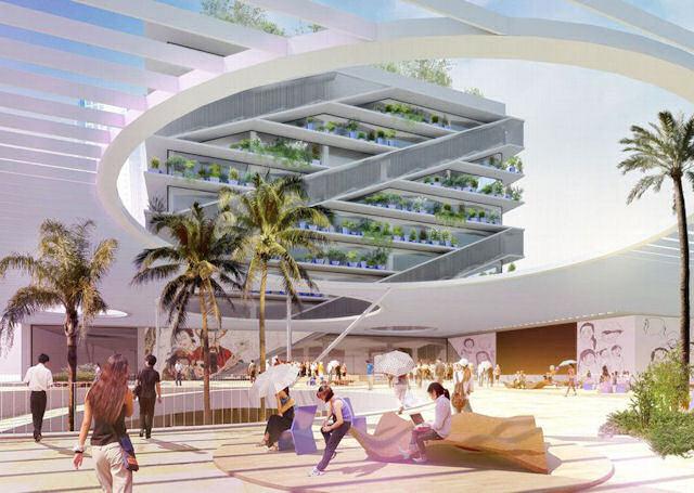 Mecanoo Architecten'ten Kaohsiung Halk Kütüphanesi