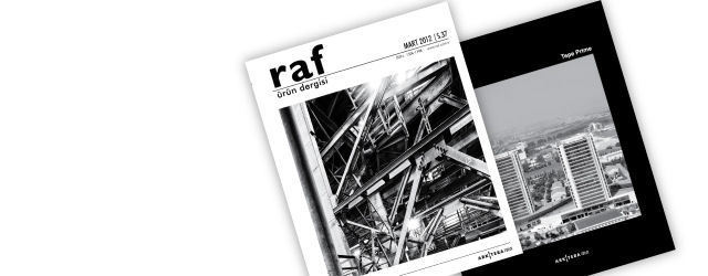 RAF Ürün Dergisi'nin Mart Sayısı Çıktı!
