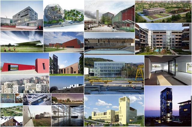 """2012 Ulusal Mimarlık Ödülleri'nde """"Mimar Sinan Büyük Ödülü"""" Erkut Şahinbaş'a Verildi"""