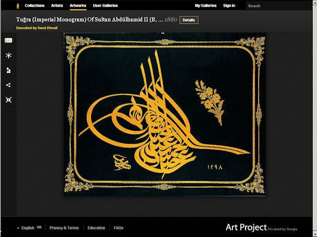 Sakıp Sabancı Müzesi Google Art Projesi'ne Dahil Oldu...