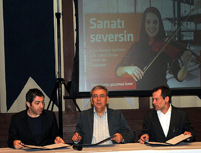 """İzmir'in """"rüya projesi"""" başlıyor"""