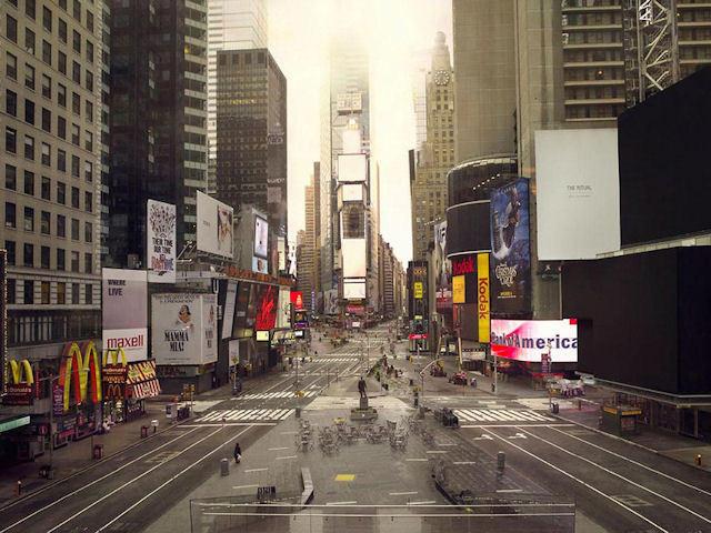 İnsanlar Olmasa New York City ve Pekin Nasıl Olurdu?