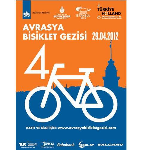 29 Nisan'daki Avrasya Bisiklet Gezisi'ne Katılmak için Yapmanız Gerekenler