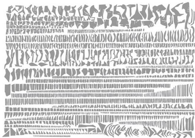 Berlin, New York, Paris, İstanbul Kent Haritaları ve Parçalanmış Formları