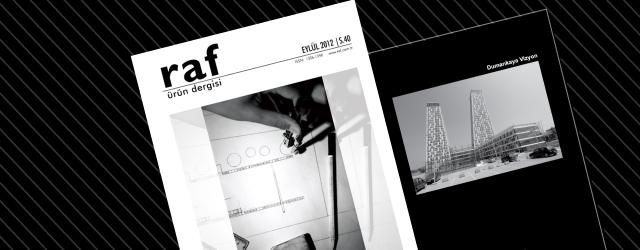 RAF Ürün Dergisi'nin Eylül Sayısı Çıktı