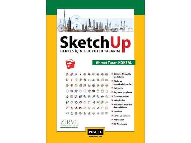 SketchUp için Yazılmış İlk Kitap