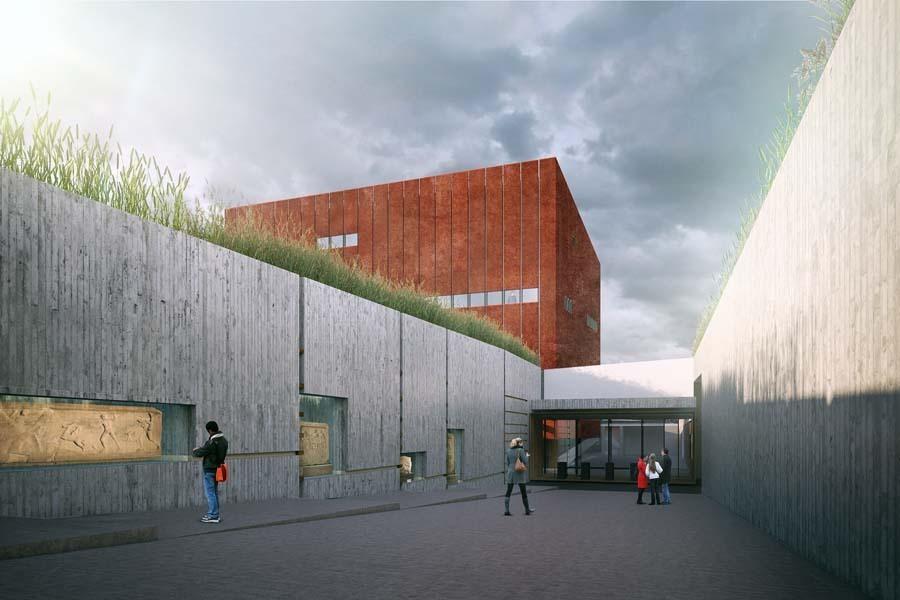 Troya Müzesi Sürecinde İnşaat Aşamasına Doğru Yaklaşılıyor