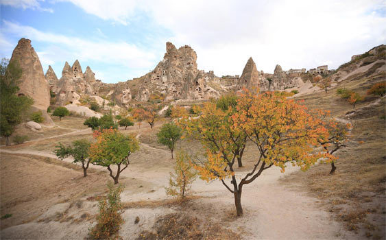 Kapadokya'da Film Platosu Oluşturulacak