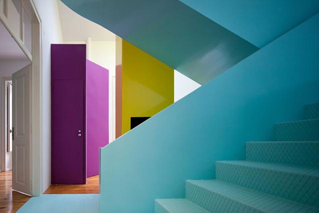 Portekiz'de Rengarenk Bir Ev; GMG House