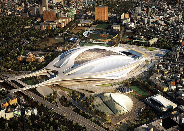 2020 Olimpiyatları'nda Zaha Hadid Ateşi!
