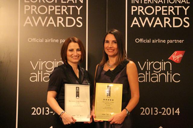 Gönye Proje Tasarım, European Property Awards'ta Ödül Aldı