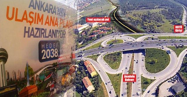 """Gökçek'in """"Ankara Ulaşım ANA Planı 2038"""" Çalışması Başarısızlığın """"Plan"""" Hali mi Olacak?"""