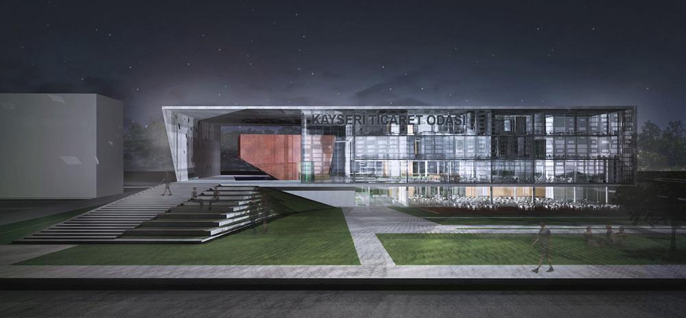 Kayseri Ticaret Odası Ulusal Mimari Proje Yarışması Sonuçları Açıklandı