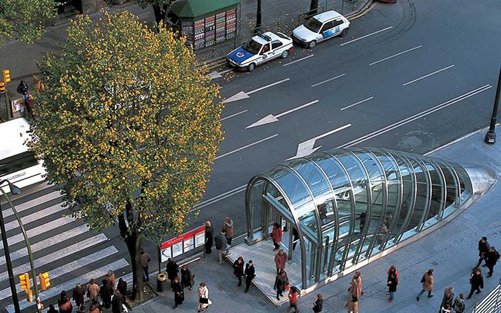 Bilbao Metrosu Ödüle Layık Görüldü