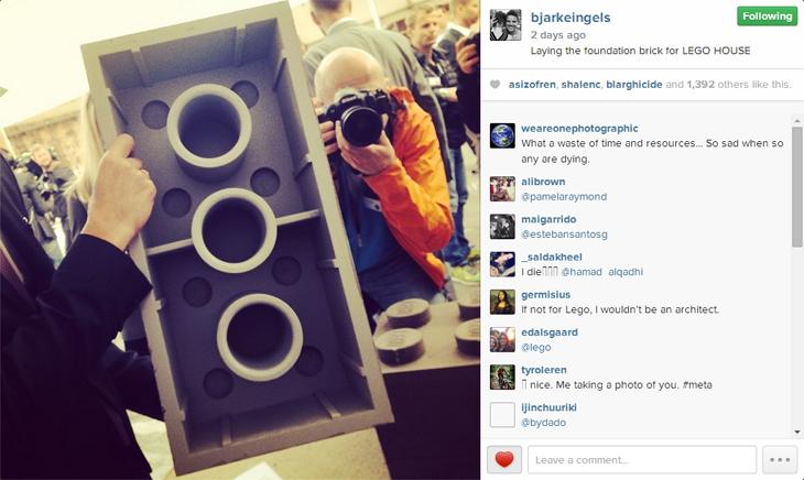 Bjarke Ingels LEGO Ev'in Temelini Attı