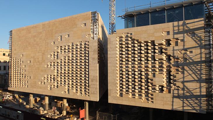 Malta 39 da renzo piano ile sil ba tan for Renzo piano malta