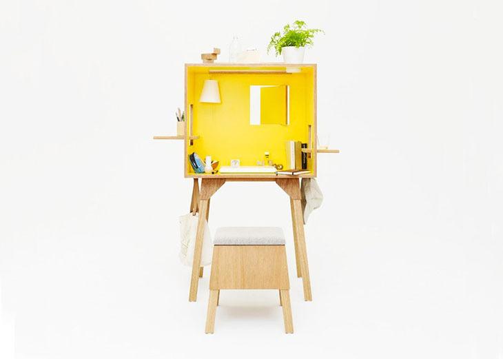 Çalışma Masaları Bir Kutuya Sığdı