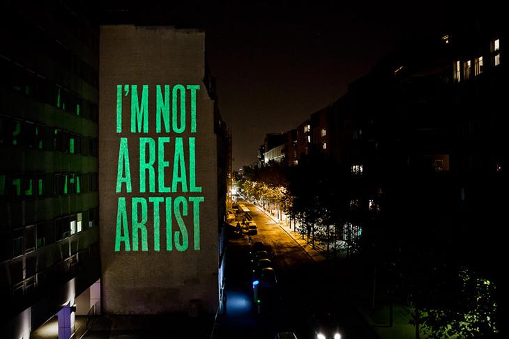 """""""Ben Gerçek Bir Sanatçı Değilim"""""""