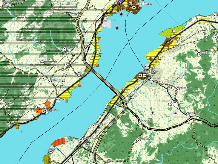 Çanakkale Köprüsü 2020'de Bitecek
