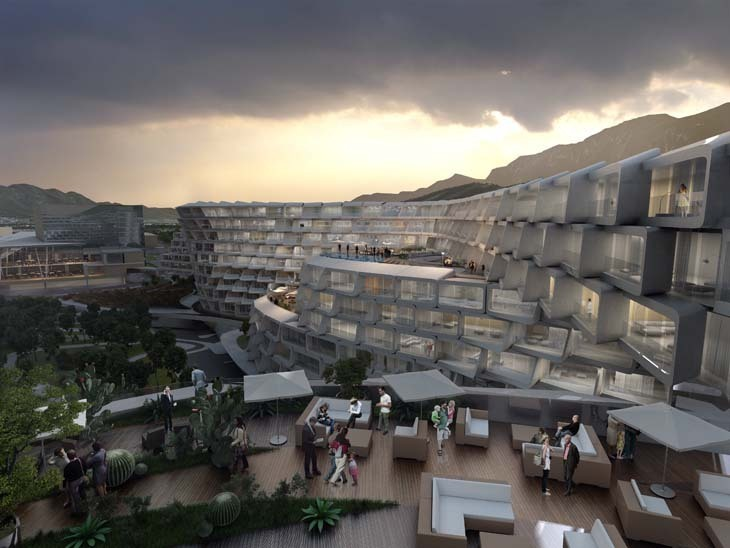 Zaha Hadid Architects Meksika'da
