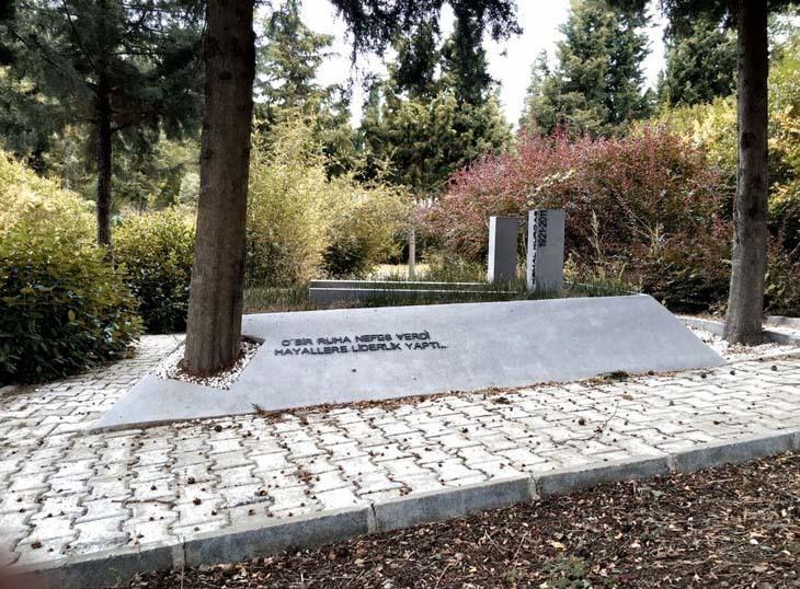 Kemal Kurdaş Anıt Mezarı'nın İnşaatı Tamamlandı!