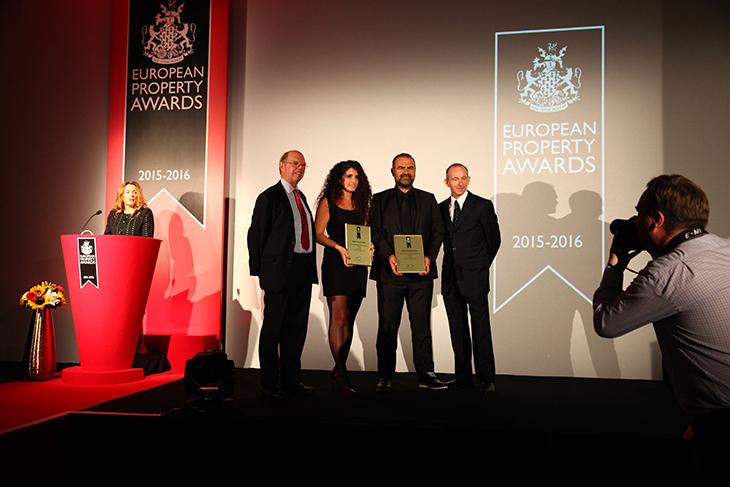 Tasarımca Design Office, European Property Awards'ta Ödüllendirildi