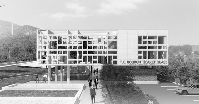Bodrum Ticaret Odası Hizmet Binası Mimari Proje Yarışması Sonuçlandı