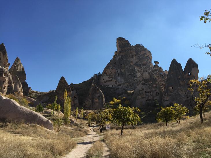 Kapadokya'ya Yerden Bakmak