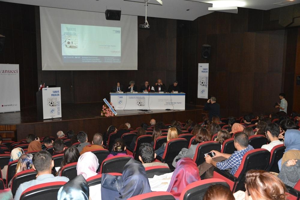 ''Türkiye Projeleri'' ile Spor Yapıları Mercek Altına Alındı
