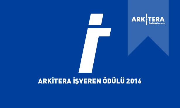 Arkitera İşveren Ödülü 2016