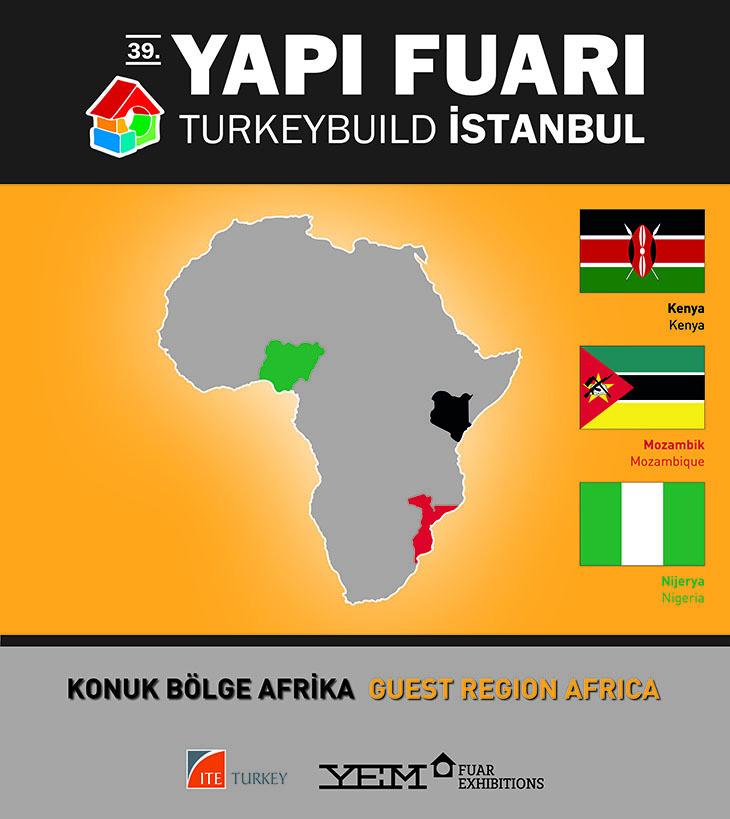 """39. Yapı Fuarı - Turkeybuild İstanbul: """"Konuk Bölge Afrika Projesi"""""""