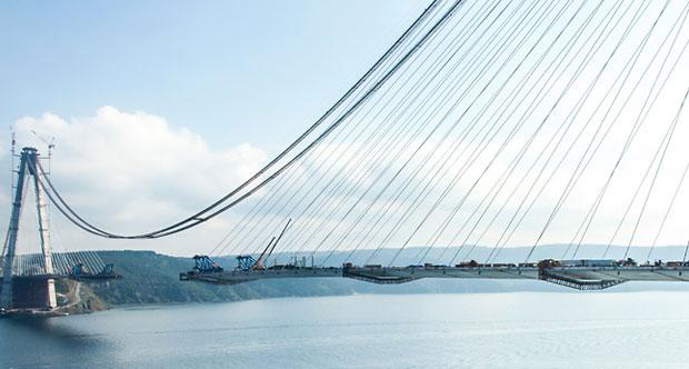 Üçüncü Köprü'ye Son 150 Metre