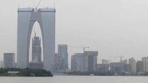 """Çin'de """"Tuhaf"""" Binalar Yasaklandı"""