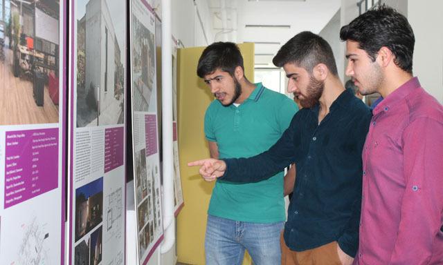 Türkiye Mimarlık Yıllığı 2015 Sergisi Uludağ Üniversitesi Mimarlık Fakültesi'nde Açıldı