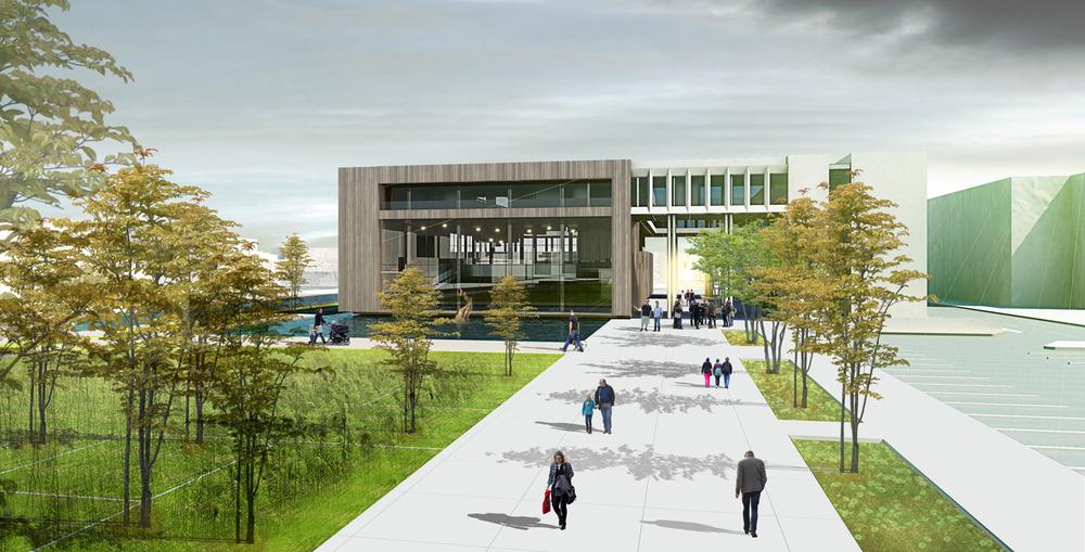 2. Ödül, Uşak Belediyesi Hizmet Binası Mimari Proje Yarışması