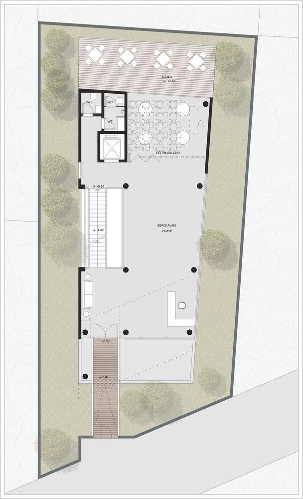 3. Ödül, Mimarlar Odası Denizli Şube Binası Yarışması