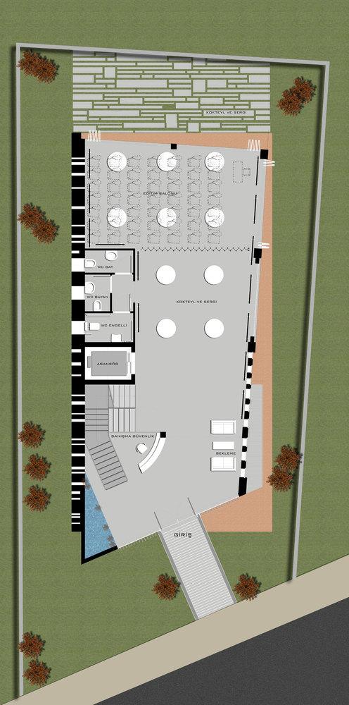 1. Ödül, Mimarlar Odası Denizli Şube Binası Yarışması