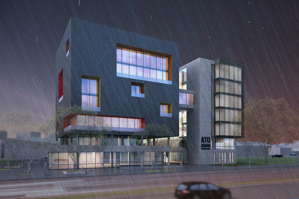1. Ödül, Adana Ticaret Odası Hizmet Binası Mimari Proje Yarışması