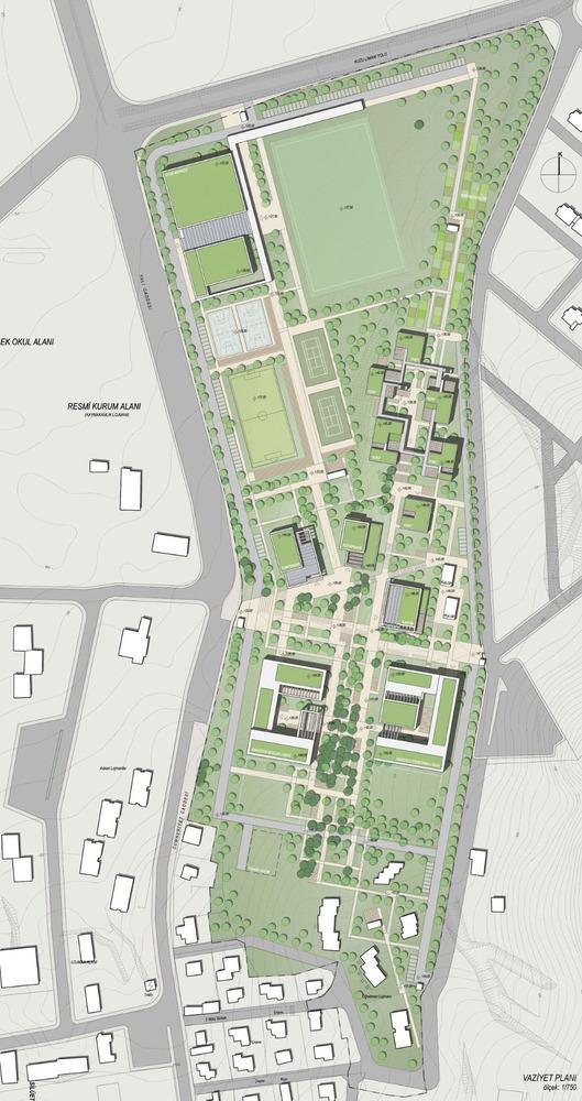 Eşdeğer Mansiyon, Gökçeada Lise Kampüsü Mimari Proje Yarışması
