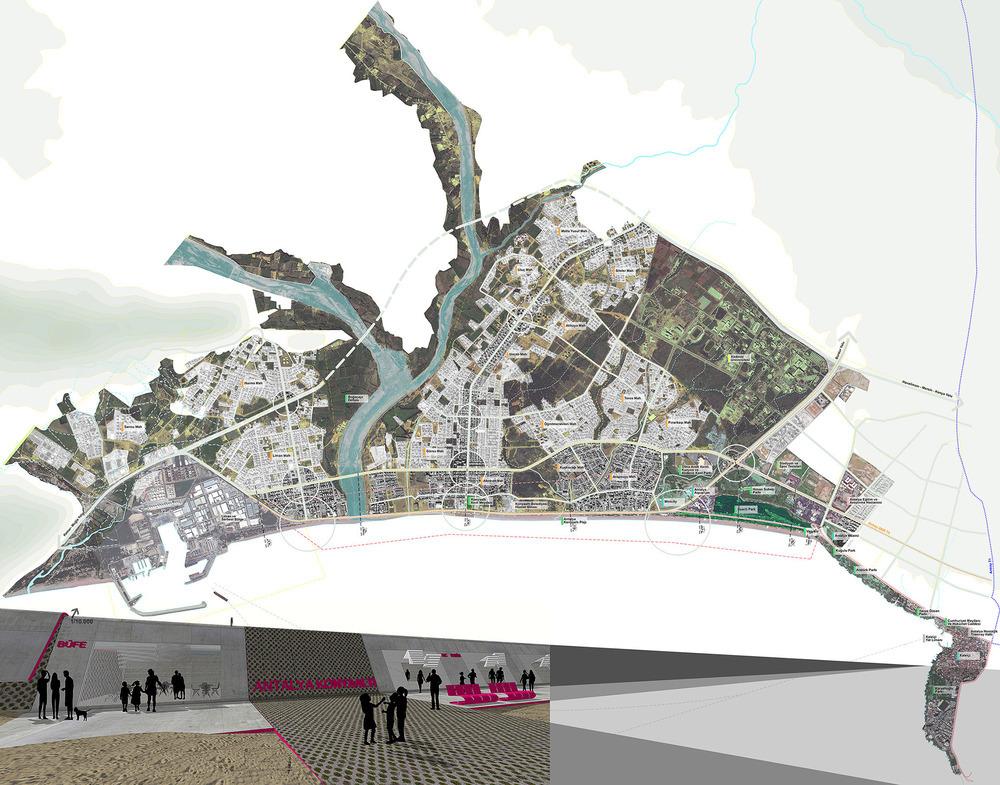 Eşdeğer Mansiyon, Konyaaltı Sahili Mimari ve Kıyı Düzenlemesi Fikir Projesi Yarışması (92758 Rumuzlu Proje)