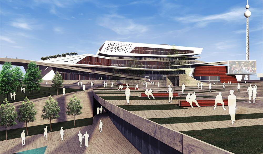 Katılımcı, Tekirdağ Büyükşehir Belediyesi Hizmet Binası ve Çevresi Mimari Proje Yarışması