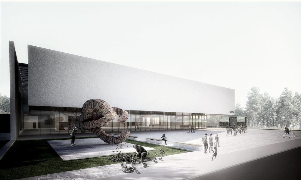 2. Ödül (Kolektif Mimarlar&Buda Mimarlık), Lüleburgaz Yıldızları Sanat Akademisi Mimari Proje Yarışması