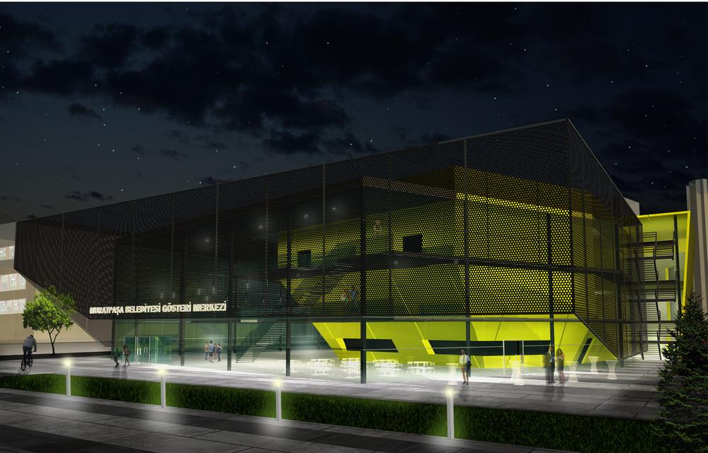 Katılımcı (Ulaş Mimarlık), Muratpaşa Belediyesi Çok Amaçlı Gösteri Merkezi Yarışması