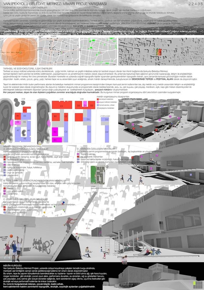 Katılımcı, Van İpekyolu Belediye Merkezi Mimari Proje Yarışması