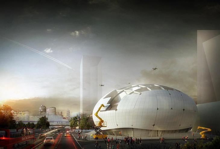 Melike Altınışık Architects, Seul'deki Robot Bilimi Müzesi Yarışmasını Kazandı