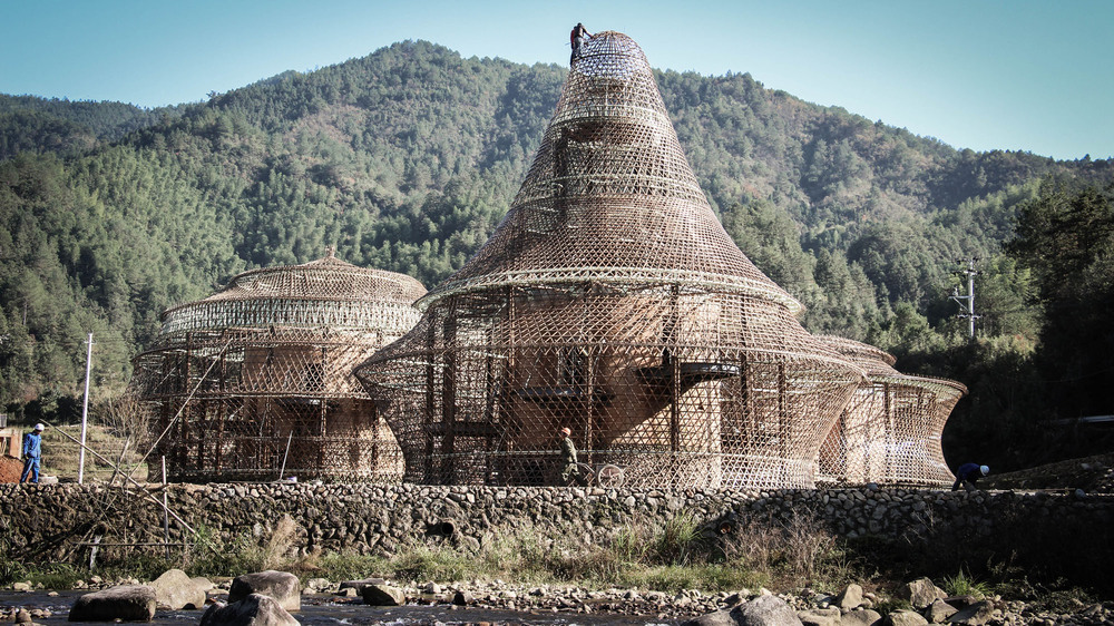 Çin'de Bambu Hosteller